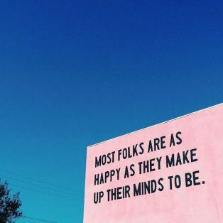 En tanke om mental hållbarhet