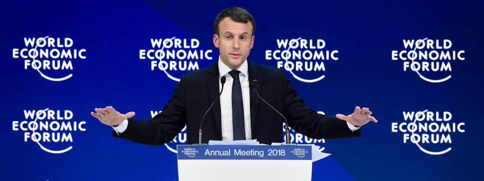 Emmanuel Macron sagt, dass Frankreich innovativer werden muss.