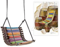 How to Build How To Make A Swing Chair PDF Plans