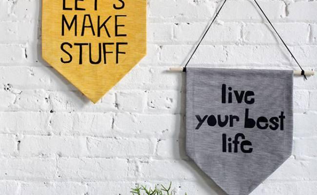 6 Easy Pieces Diy Wall Hangings Handmade Charlotte