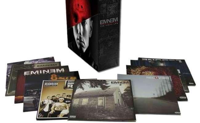 Eminem The Vinyl Lps Limited Edition Box Set 20 Lps Jpc