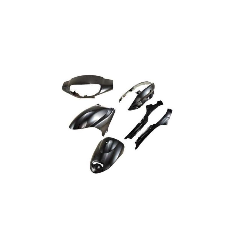 Fairing kit black 7 parts Peugeot V-Clic / Filly / Baotian