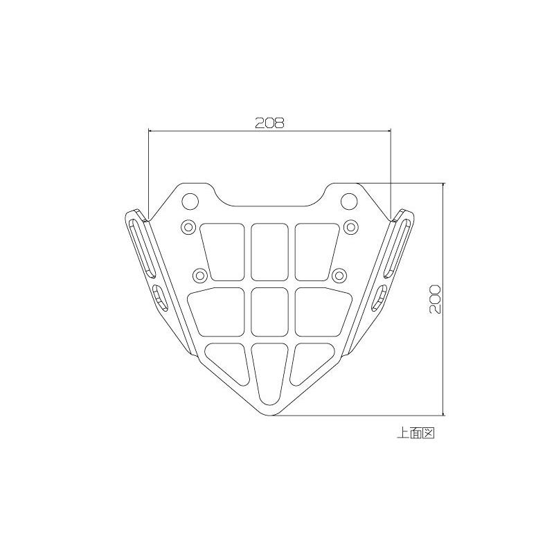 Single side swingarm for Honda MSX grom