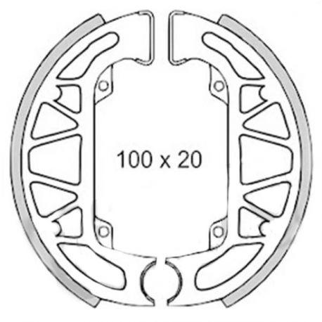 Brake pads RMS (PIAGGIO TYPHOON/SFERA)