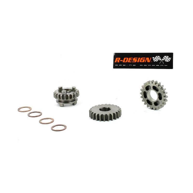 Motorkit Set gearbox with 4th short for Honda Monkey