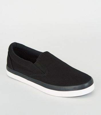 Womens Grey Slip On Shoes
