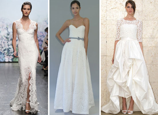Pictures Of The Best Designer Wedding Dresses From 2012