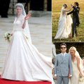 Who did the dress 12 celebrity wedding gowns amp the designers who