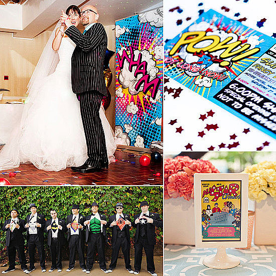 Comic Book Wedding on Pinterest