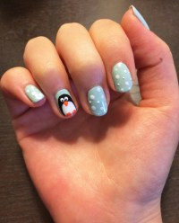 Penguin Nail Art Tutorial | POPSUGAR Beauty