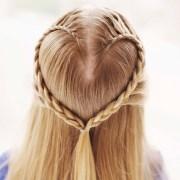 create heart hair braid valentine's