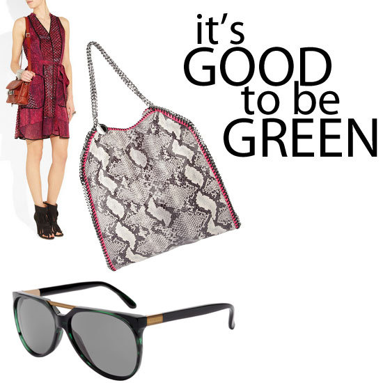 Popsugar online magazine promoting eco or green fashion