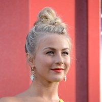 See Julianne Hough's Rock Of Ages Braided Topknot Updo ...