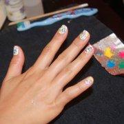 graffiti nail art tutorial naomi