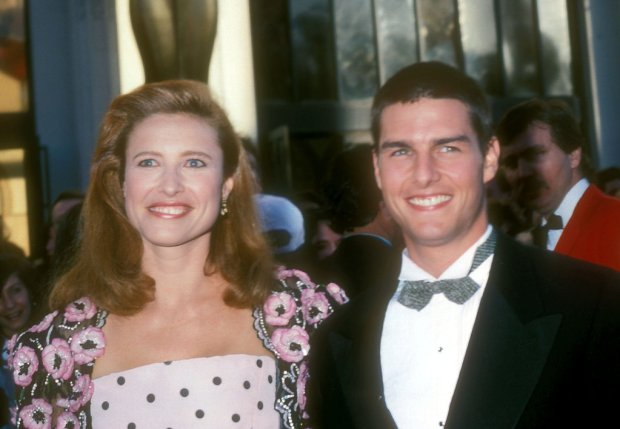 Before Nicole Kidman and Katie Holmes, Tom Cruise wed actress Mimi Rogers in May 1987. They finalized their divorce in February 1990.<br /><br />