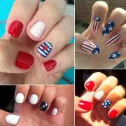 4th of july nail design popsugar