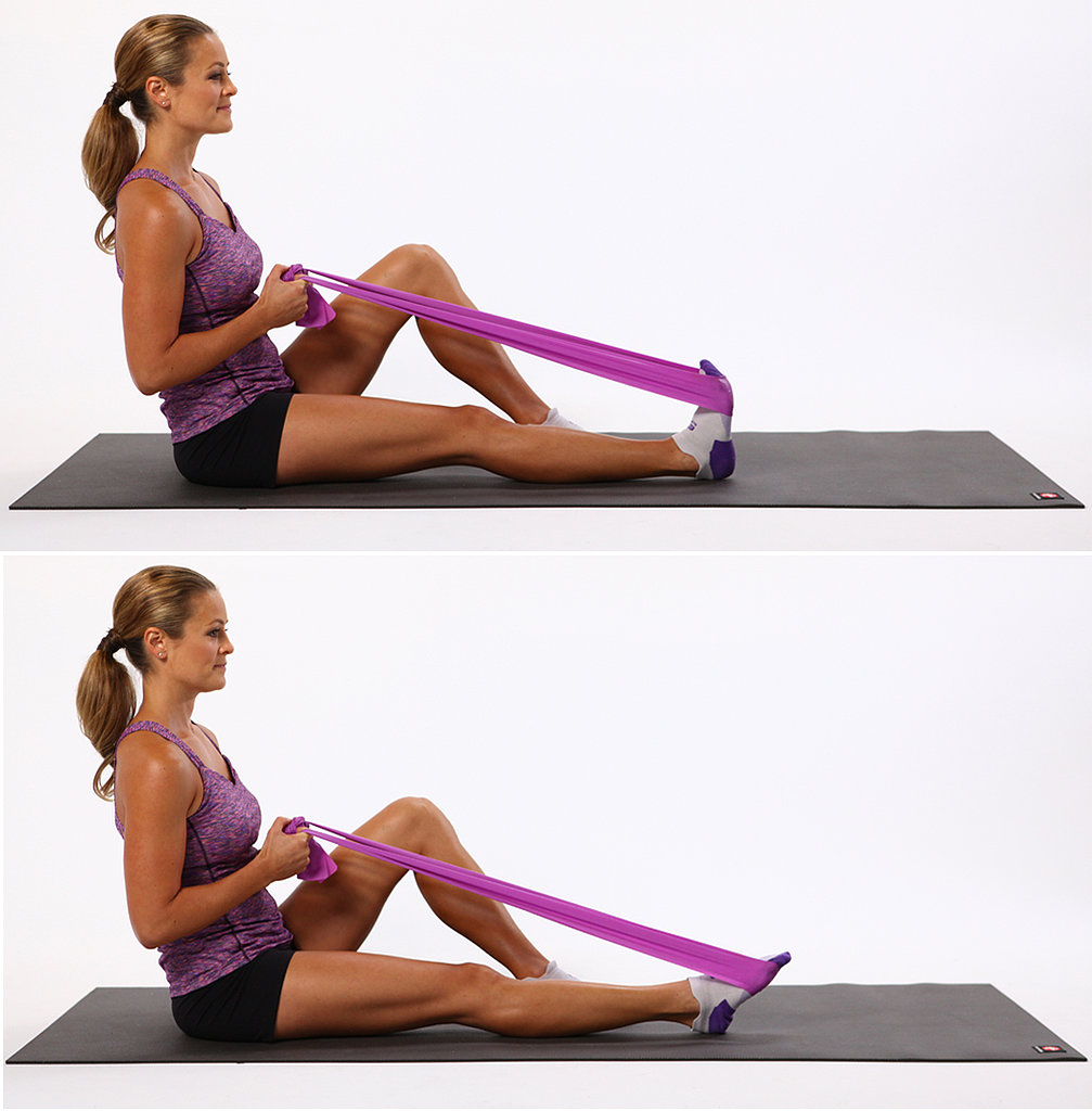 Seated Theraband Exercises