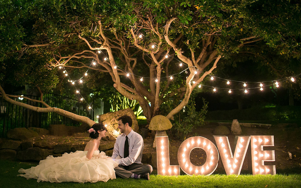 Diy Outdoor Wedding Lighting