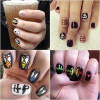 Harry Potter Nail Art Ideas | POPSUGAR Beauty