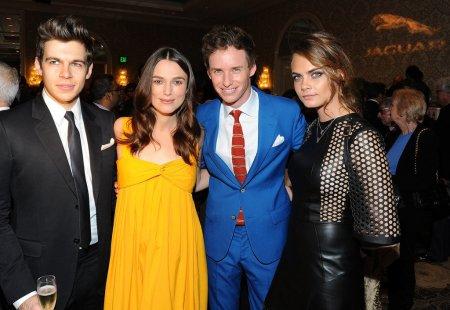 Celebrities op de BAFTA's 2015