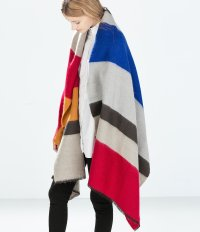 Zara Striped Scarf | 14 Blanket Scarves So Luxe You'll ...