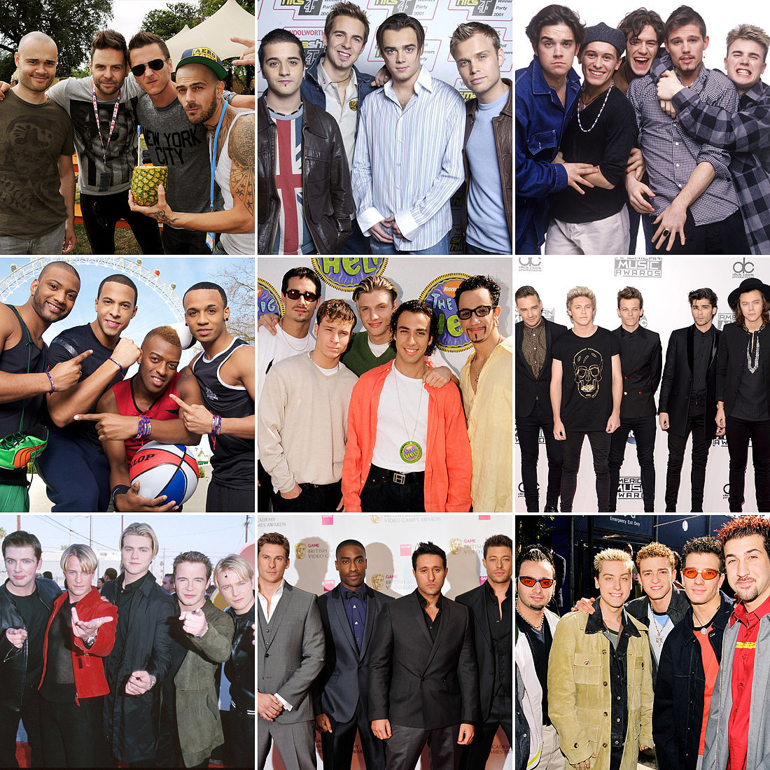 Quiz Which Boy Band Is Your Favourite