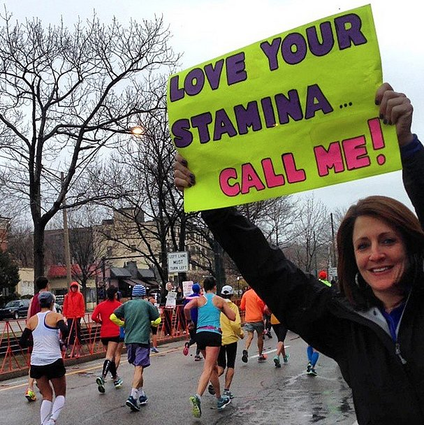 These Hilarious Boston Marathon Signs Make Us Want to Run Faster