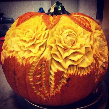 A Bouquet Pumpkin
