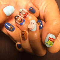 Makeup, Beauty, Hair & Skin | These Disney Nail Art Ideas ...
