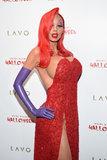 Definitivamente non riconoscerete Heidi Klum in questo costume di Halloween del coniglio di Jessica