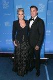 P!nk e Carey Hart schiacciano in una notte adorabile della data in NYC