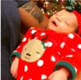Dwayne Johnson che canta a sua figlia neonata fonderà ovviamente il vostro cuore