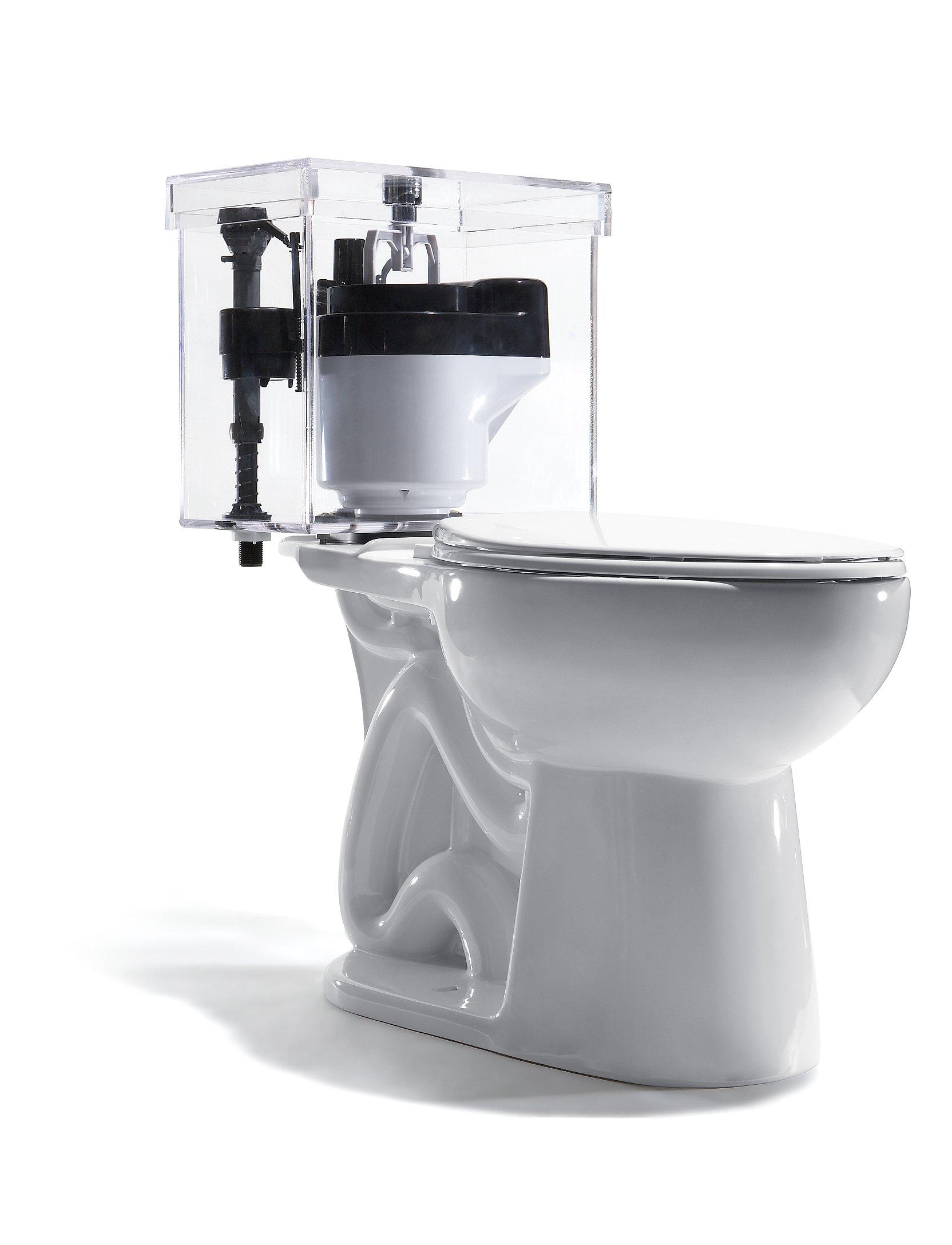 A Toilet That Saves Gallons Per Flush  5 Brilliant