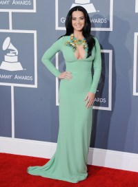 Katy Perry took the 2013 Grammys red carpet by storm in a ...