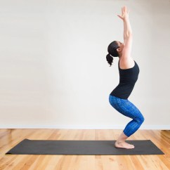 Yoga Chair Pose Cheap Garden Plastic Chairs How To Do Fierce In Also Called
