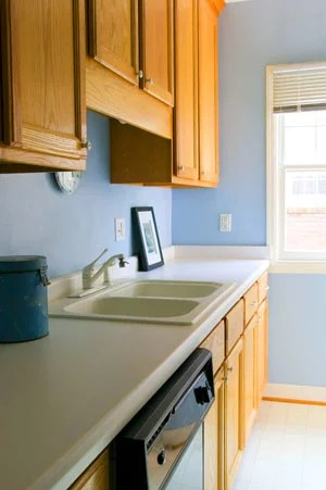 Before And After A Sweet Galley Kitchen Makeover