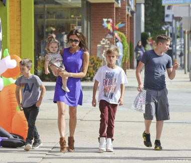 Image result for victoria beckham and her kids