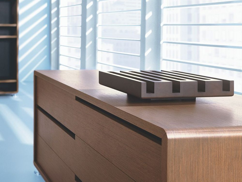Balma Xeon Executive Glass Office Desk