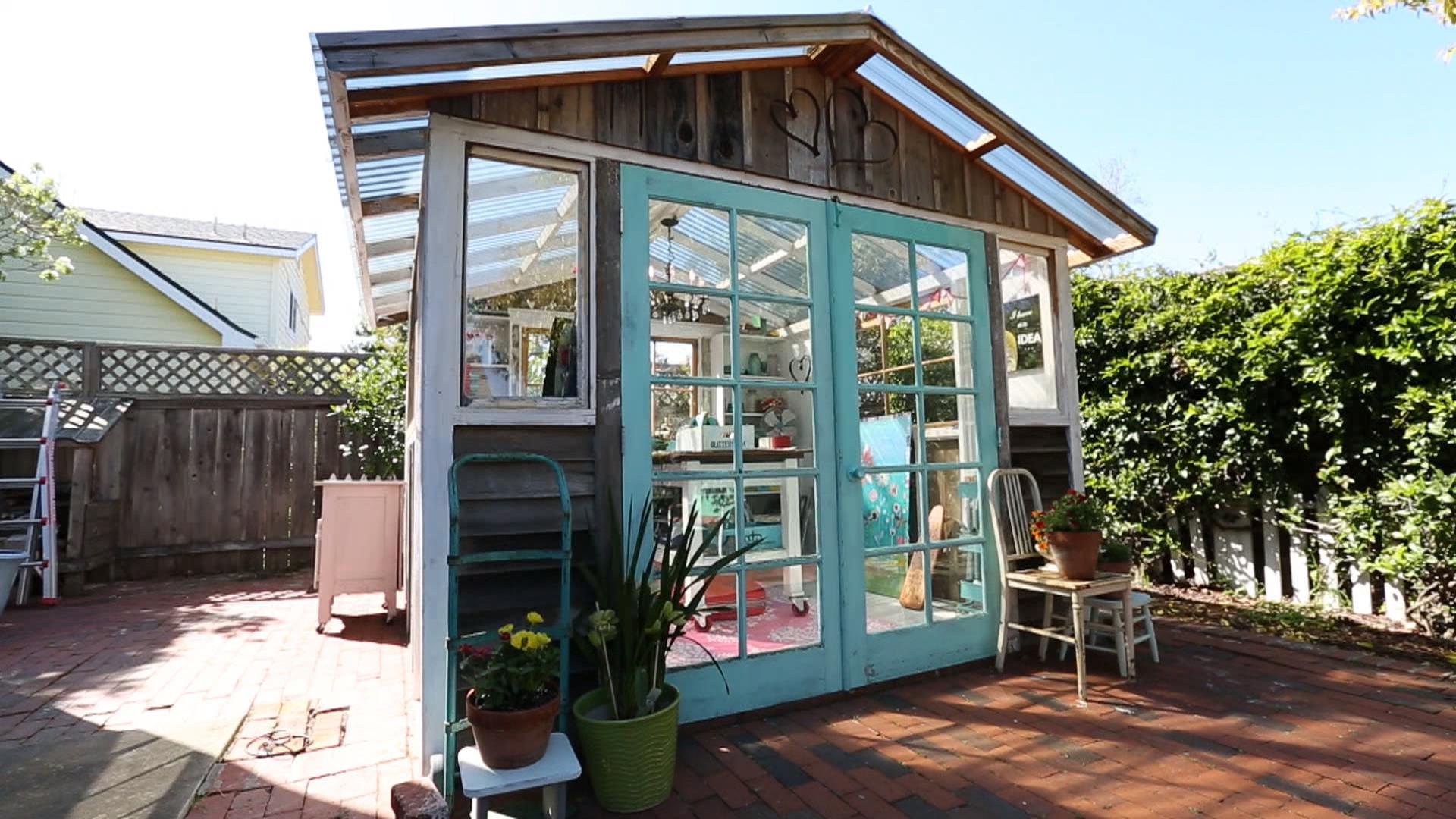 Introducing the she shed Womens answer to the man cave