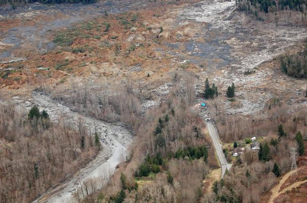 States Prone Landslides - And