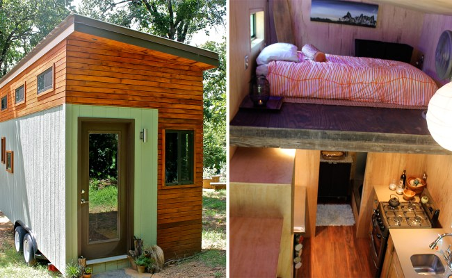 College Student Builds Tiny Home To Graduate Debt Free