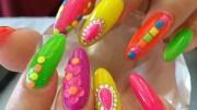 bubble nails 5 crazy manicure