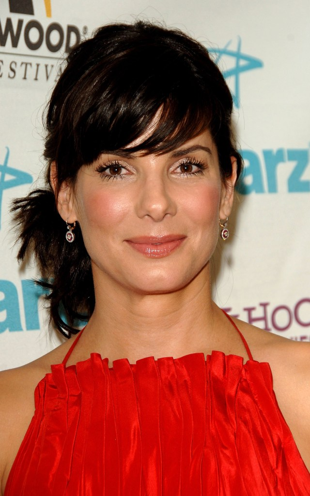 sandra bullock's hair evolution