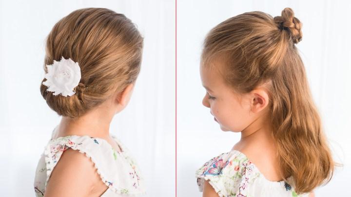 Kiểu tóc đơn giản cho các cô gái mà bạn có thể tạo ra trong vài phút