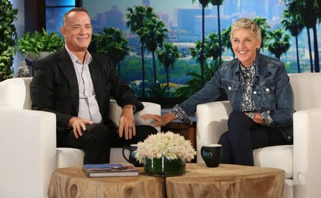 Tom Hanks Ellen Degeneres Imagine Toy Story Finding