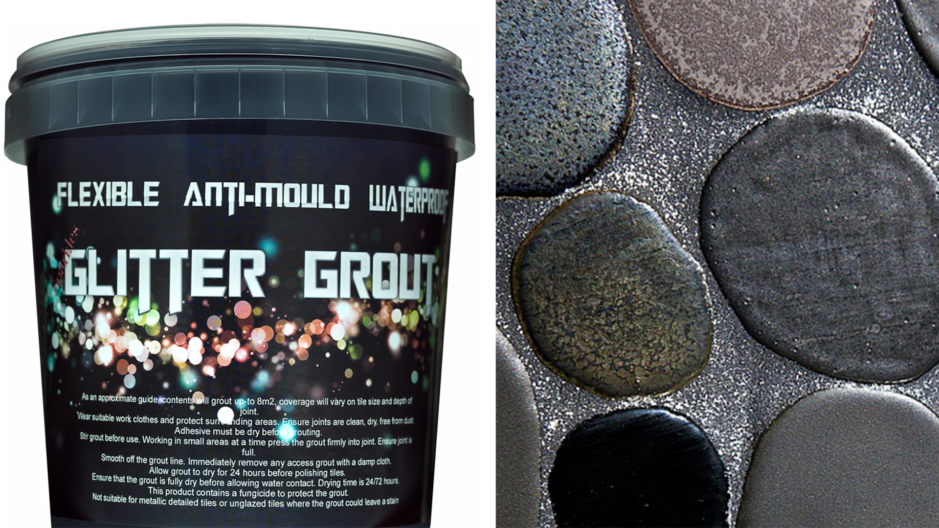 Glitter Grout Home Decor Trend  TODAYcom