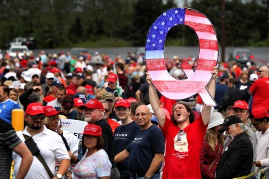 What is Qanon? A guide to the conspiracy theory taking hold among Trump supporters