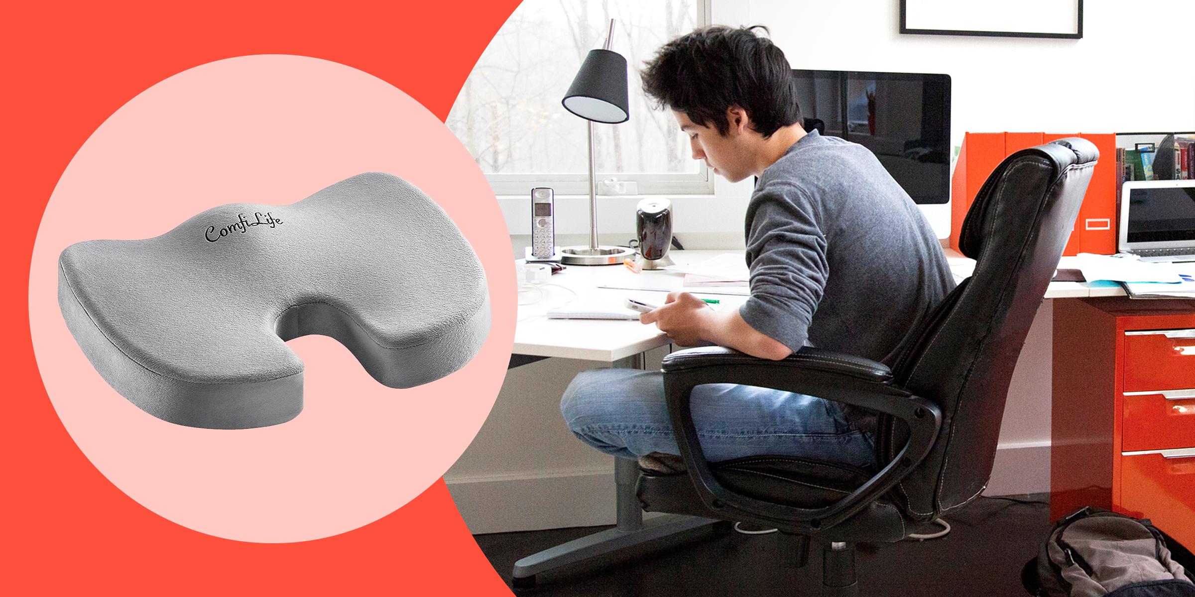memory foam seat cushion for back pain