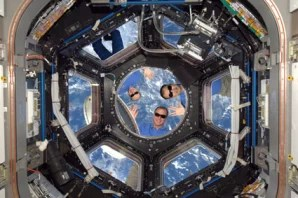 Astronauts Play April Fools Trick In Orbit Technology