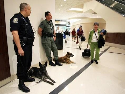 Passengers face security gauntlet  World news  Terrorism